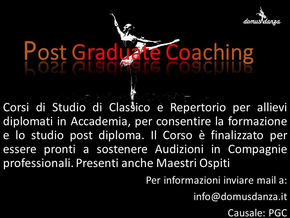 Post Graduate Coaching